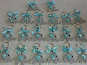 Baby Shower Nina Elefante Decoracion.75 Llaveritos De Elefante Nino O Nina Para Baby Shower