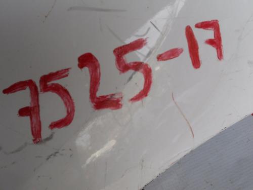 7525 fascia tras toyota corolla detalle indicado 2014-2015