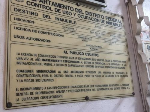 7636-rtv terreno en venta en villa sahagún, villa de aragón, gustavo a. madero