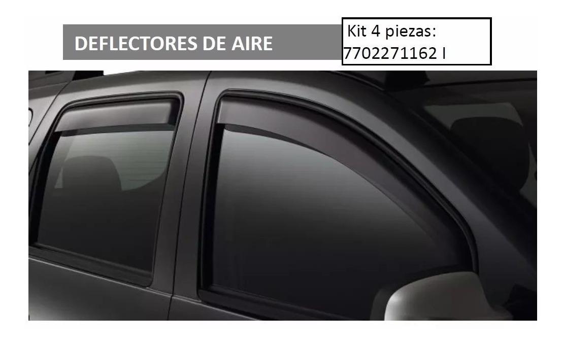Dacia Duster II /Delantero deflectores de Viento Original / 2018/de