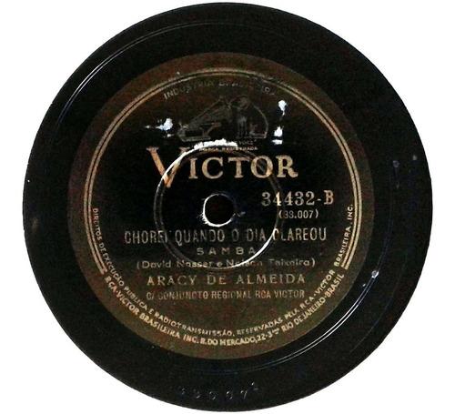 78 rpm aracy de almeida 1939 selo victor 34432