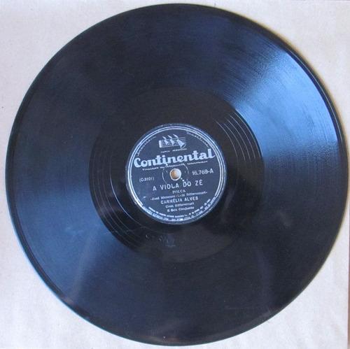 78 rpm - carmélia alves/jorge veiga - continental 16.769