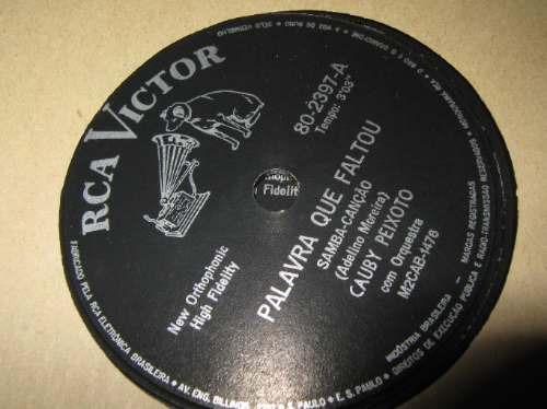 78 rpm cauby peixoto  zerado madreperola palavra que faltou