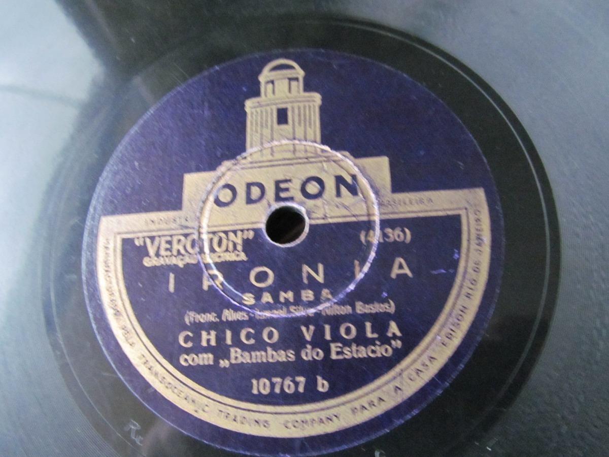 5137b98bc05 78 rpm chico viola bambas do estacio apanhando papel samba. Carregando zoom.
