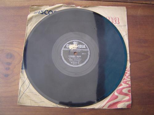 78 rpm disco lp zezé gonzaga canário triste & razão de tudo