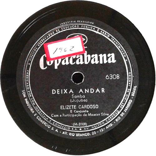 78 rpm elizete cardoso 1961 selo copacabana 6307