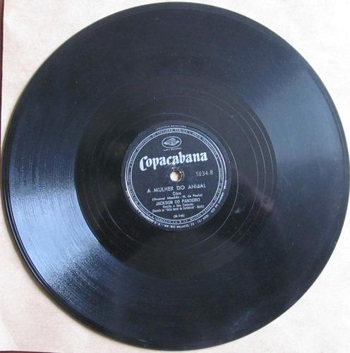 78 rpm - jackson do pandeiro - copacabana 5.234 - 1954 (abr)