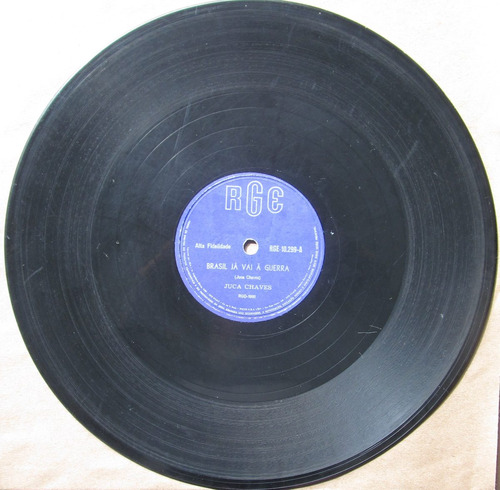 78 rpm - juca chaves - rge10.299 - 1961 (jul.)
