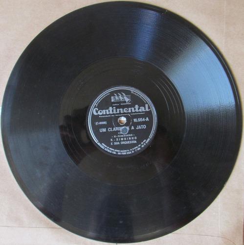 78 rpm - k-ximbinho - continental 16.954 - 1954 (mai.)