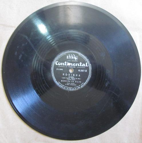 78 rpm - moreira da silva - continental 16.587 - 1952