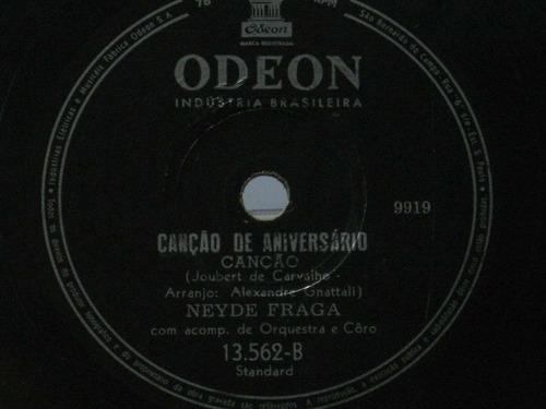 78 rpm neyde fraga lili - canção de aniversário