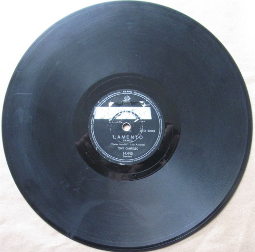 78 rpm - tony campelo - odeon 14445 - abr.1959
