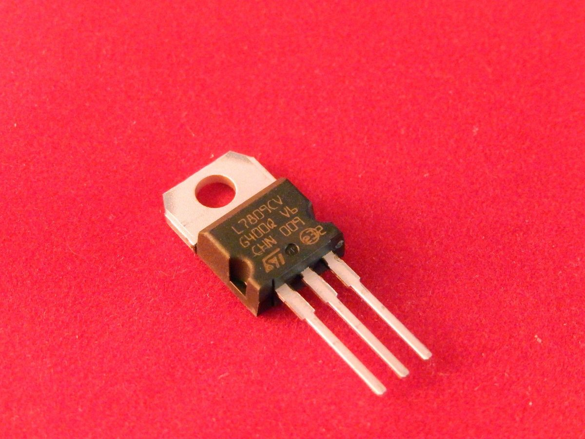 7809 Voltage Regulator 9v R 999 Em Mercado Livre 9 V Using Carregando Zoom