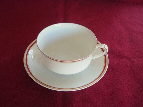794 b-hermosa taza de te de porcelana limoges