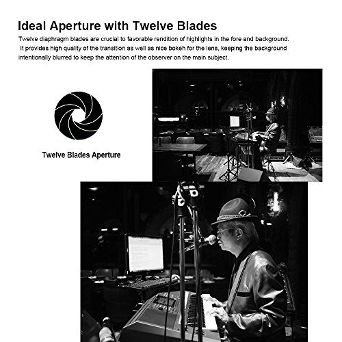 7artisans 25mm f18 lente de enfoque manual de retrato de gra