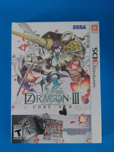 7th dragon iii code vfd 3ds nuevo sellado nintendo trqs