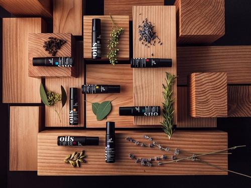 8 aceites esenciales roll on menta eucalipto lavanda inciens