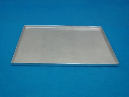 8 assadeiras para rocambole em alumínio grande (padrão)
