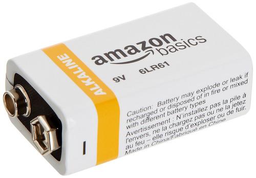 8 baterías alcalinas uso diario, 9 voltios 3, años vida útil