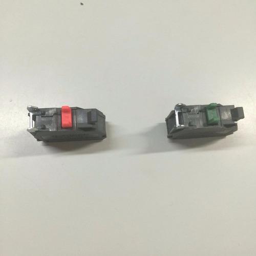 8 blocos de contato para botão de comando na ou nf botoeira