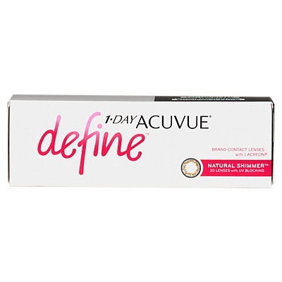 8 Caixas 1-day Acuvue Define Shimmer (efeito Realce Médio) - R  517 ... bbb2a126db