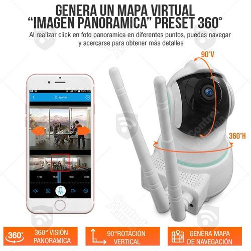 8 camaras ip cctv 360 2mp wifi espias seguridad dvr 128 gb