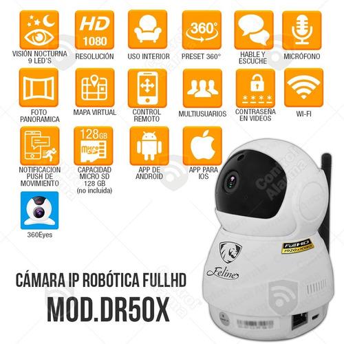 8 camaras ip monitor 360 2mp wifi cctv vigilancia dvr 128 gb