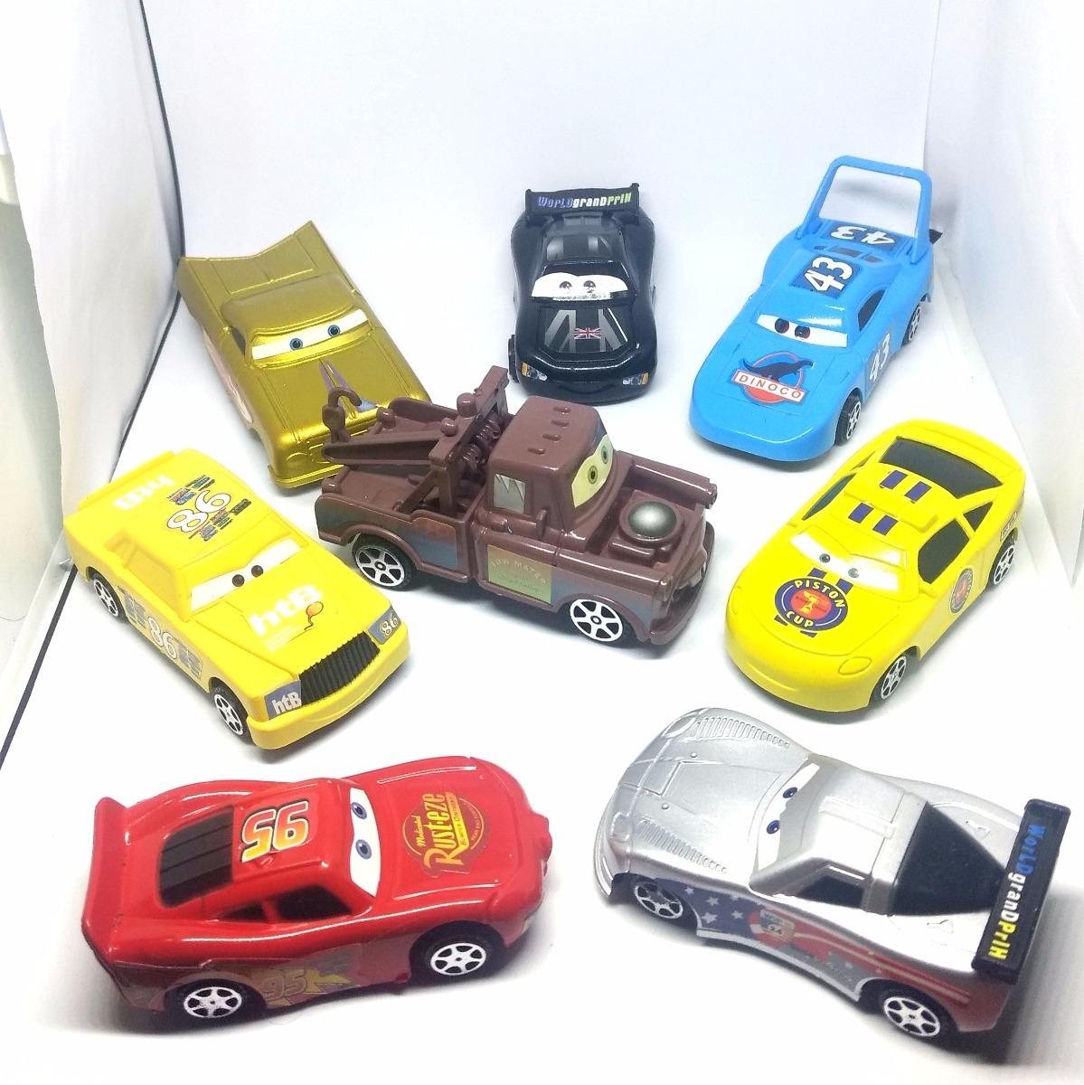 c1ff6f6b4d1 8 Carrinhos De Brinquedo Filme Carros Relâmpago Mcqueen Cars - R ...