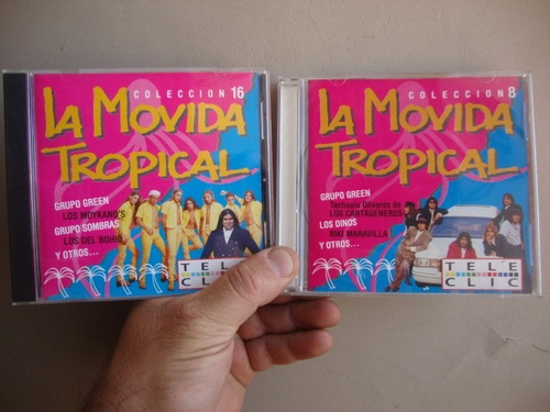 8 cds la movida tropical rev.tele clic