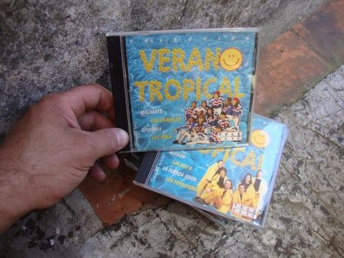 8 cds verano tropical rev.tele clic