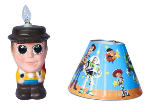 8 centro de mesa woody toy story buzz light year lampara