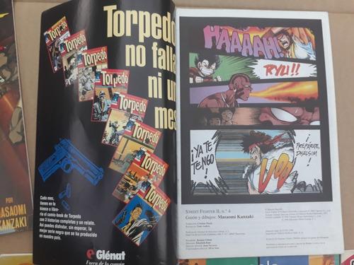 8 cómics de street fighter ii (colección completa)$40000