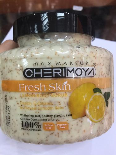 8 crema exfoliante de cuerpo 500g
