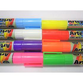 8 Diferentes Colores Marcador Para Vidrio Arte Pop 8 Grs.