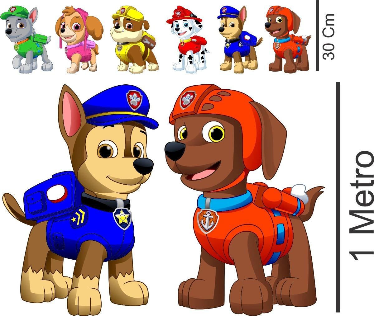 8 Display Patrulha Canina 1 Metro Lindos So Cachorrinho R 184