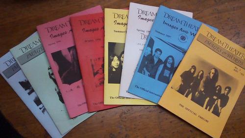 8 fanzines de dream theater 1995 - 1997