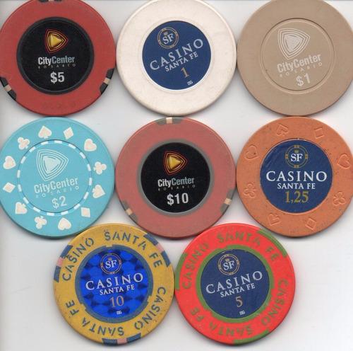 8 fichas de casinos de santa fe