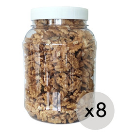 8 Frascos Plasticos Recipiente Hermetico 3000 Cc C/ Tapa
