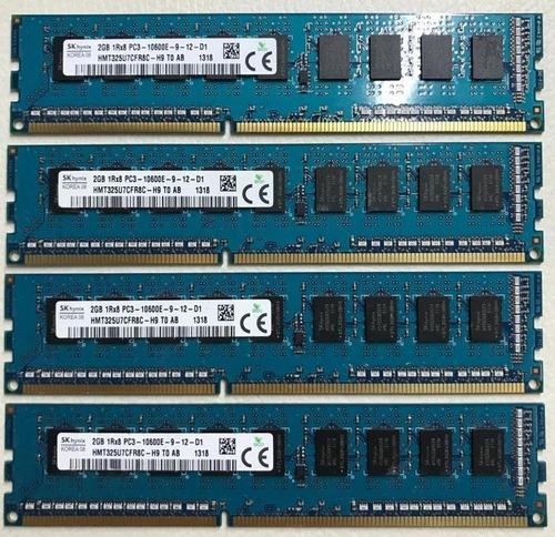8 gb de memoria ecc kit com 4x2gb para mac ou servidor