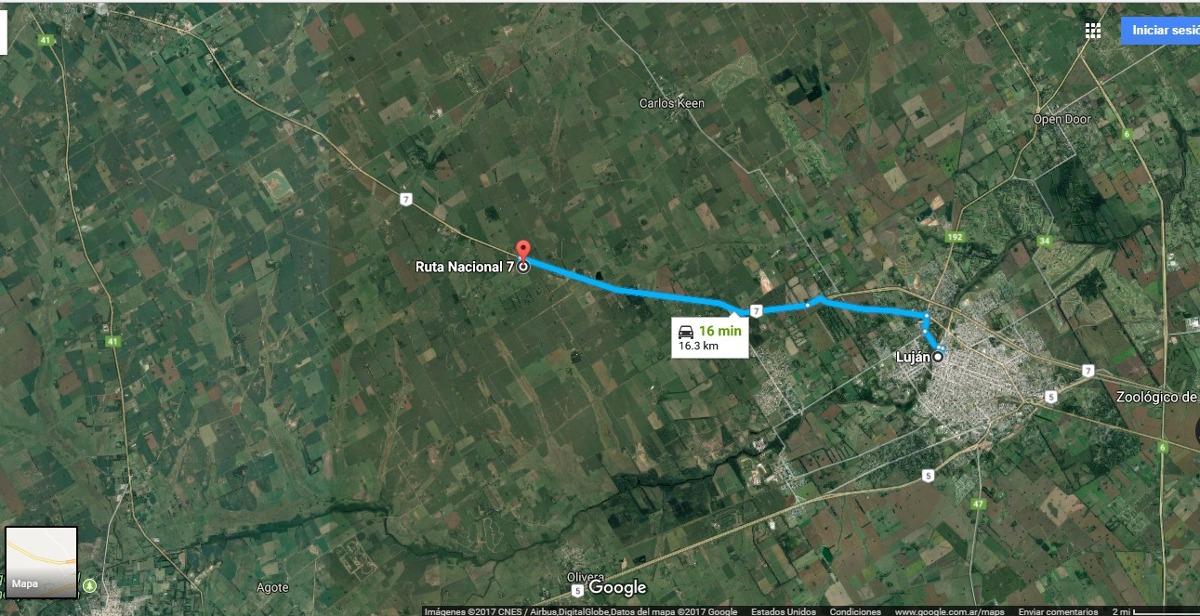 8 hectareas a 10 min del centro en lujan consulte!