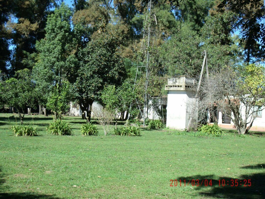 8 hectáreas con casa  en lujan cortines***
