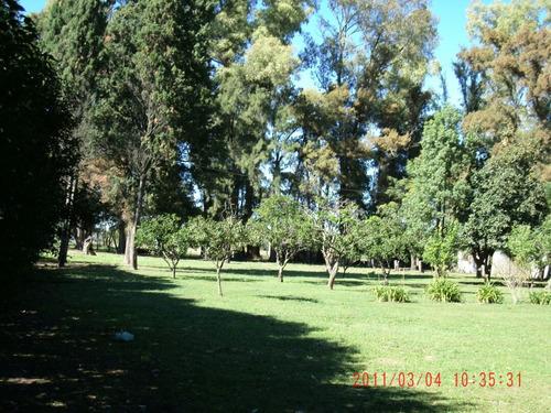 8 hectáreas zona rural en lujan excelente ubicación