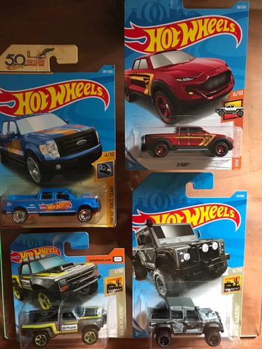 8 hotwheels novos selecionados