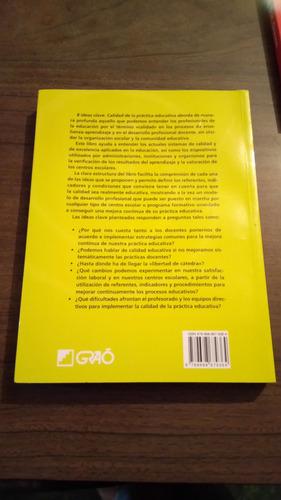 8 ideas clave, calidad de la práctica educativa / malpica