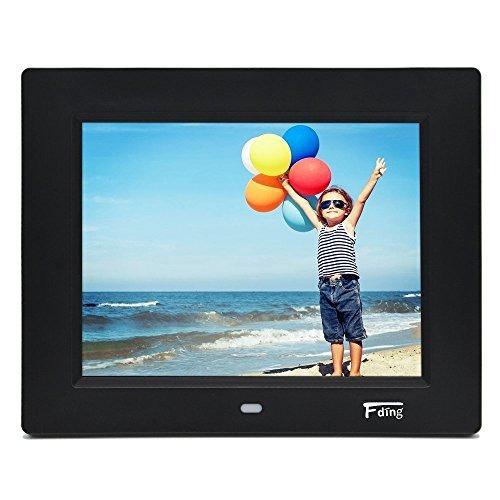 8 Inch Hi-res Led Digital Photo Frame With Motion Sensor & 8 ...