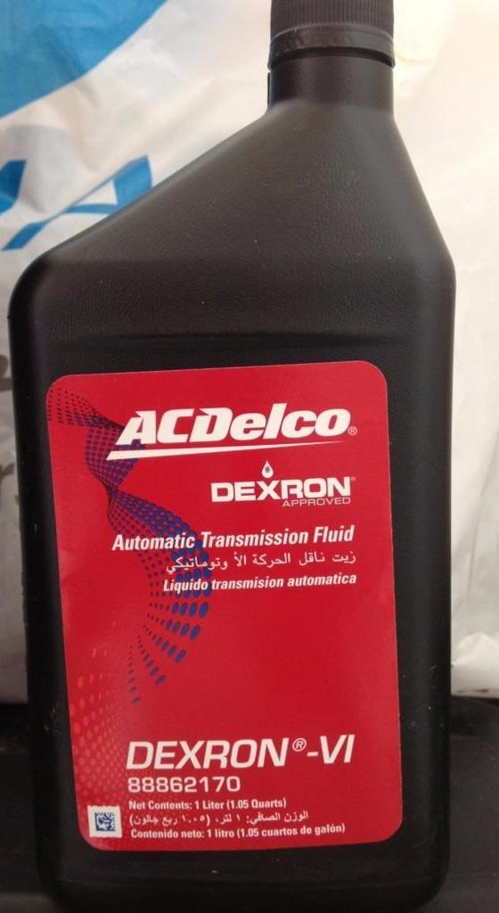 8 L Aceite Dexron Vi Acdelco Original Transmision Gm ...