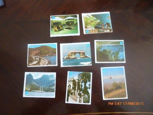 8 laminas del album chile geografico y turistico artecron