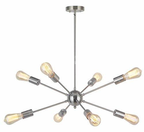 8 lámparas de techo sputnik iluminación colgante modern