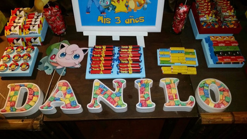 8 letras  candy bar  para rellenar oferta  mercado libre