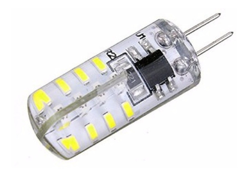 8 lâmpada g4 2w 32 led 110v quente lustre luminária pendente